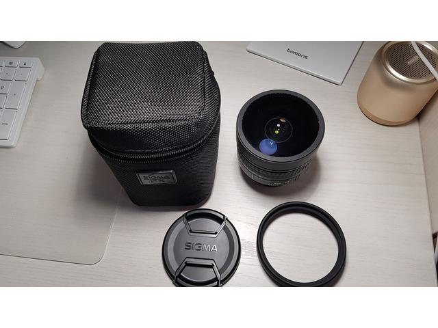 Fisheye sigma 8mm ex dg NIKON - 2