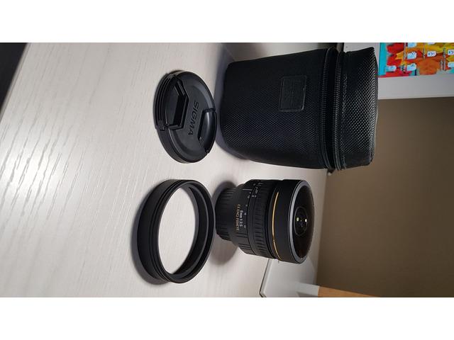 Fisheye sigma 8mm ex dg NIKON - 4
