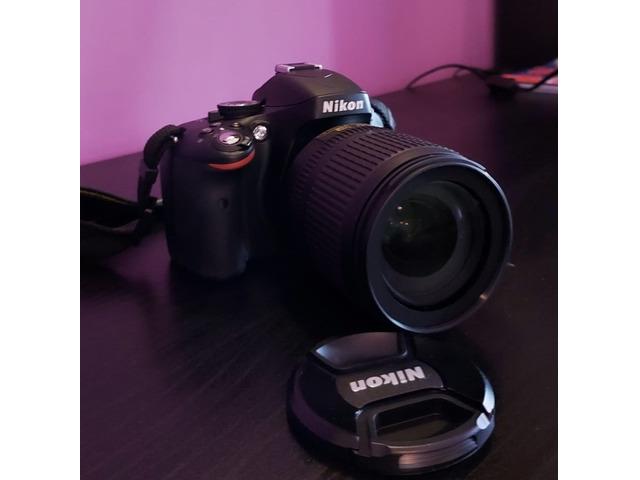 Nikon d5100 con ottica 18-105 - 2