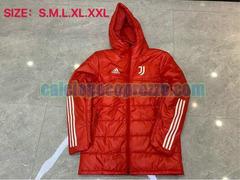 giacca cotone juventus 2020 2021 rosso
