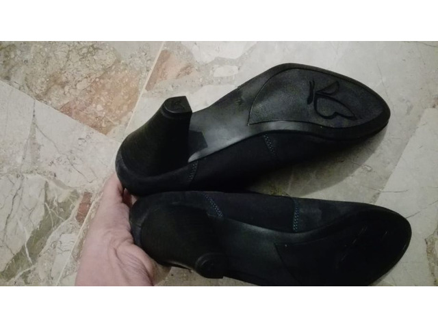 Scarpe eleganti blu in suede tg 41 - 3