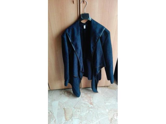 Giacca blu casual