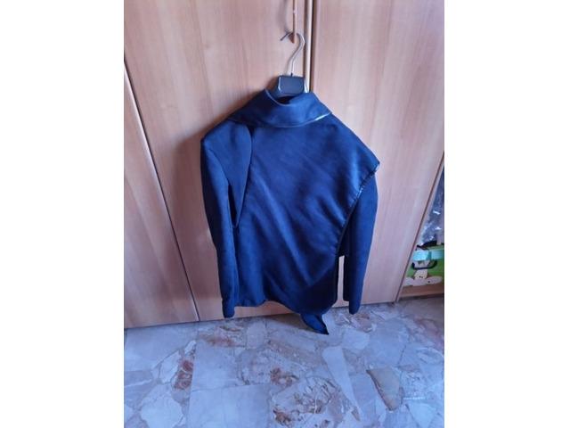 Giacca blu casual - 3
