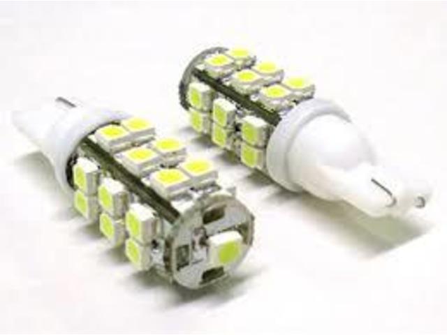 Coppie di lampadine a led luci di posizione auto 24 smd t10