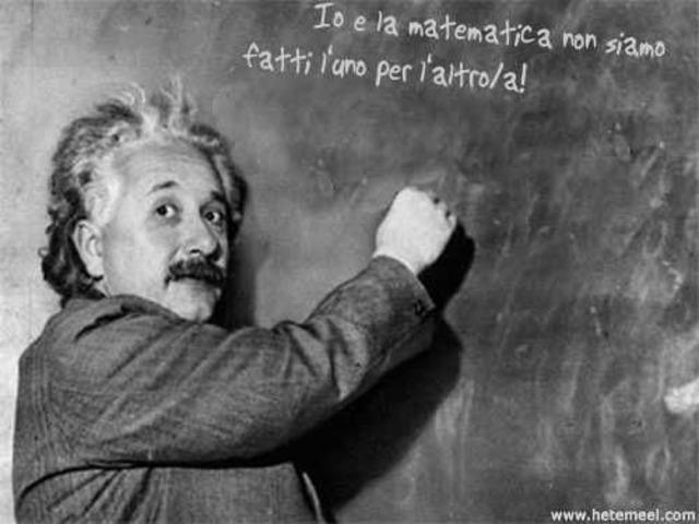 Io e la matematica non siamo fatti l'uno per l'altro/a! - 1