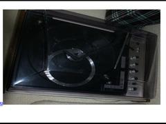 Giradischi anni 80 con coperchio