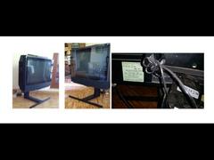 Televisore schermo piatto catodico