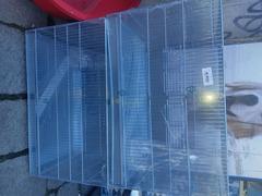 gabbia zingata completa di accessori