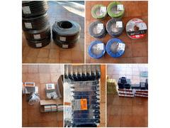 Vendo materiale per impianto elettrico
