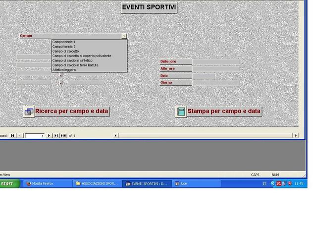 Software gestionale Associazioni Sportive