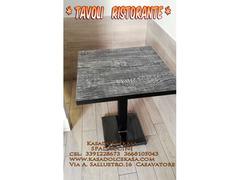 Tavoli e Sedie per Ristorante