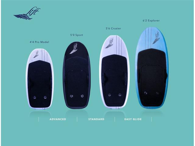 LIFT  FOIL  SURF  Elettrico