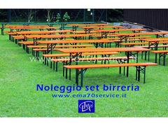 NOLEGGIO SET BIRRERIA