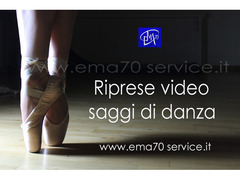 RIPRESE VIDEO SAGGI DI DANZA