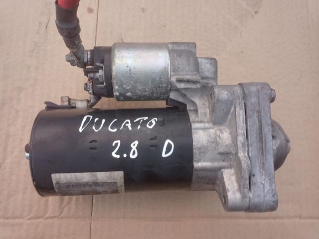 Motorino d'avviamento Fiat Ducato 2.8 diesel 1999