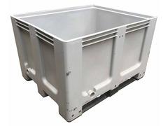Contenitori in plastica impilabili bins usati