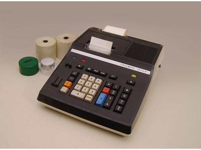 Calcolatrice elettrica TRIUMPH