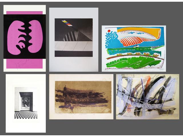 Litografie, Acqueforti, Tecnica mista, vari autori
