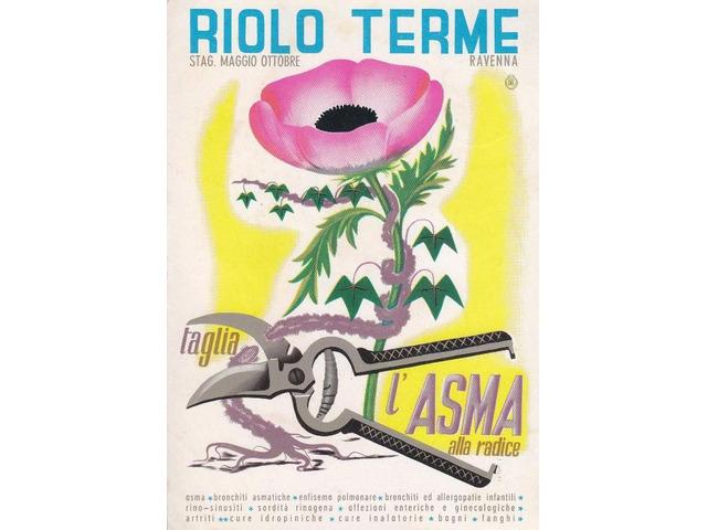 Manifesto originake Riolo Terme 70x100