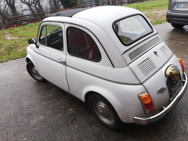 Fiat 500L epoca del 1971
