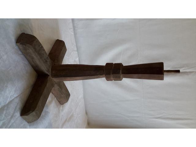 Piede in legno per Supporto TAVOLO o Basamento