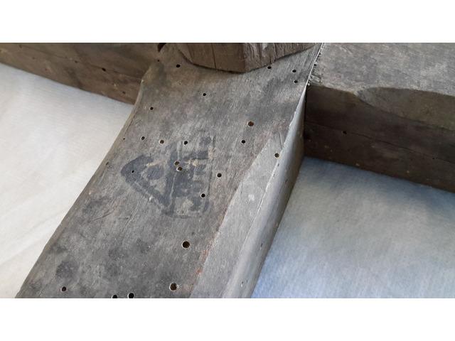 Piede in legno per Supporto TAVOLO o Basamento - 5