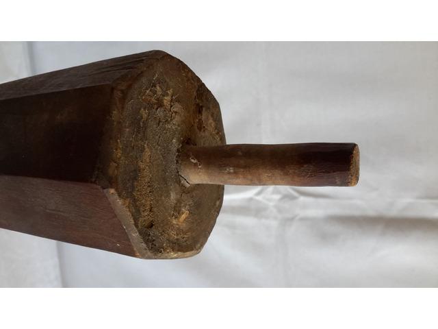 Piede in legno per Supporto TAVOLO o Basamento - 6