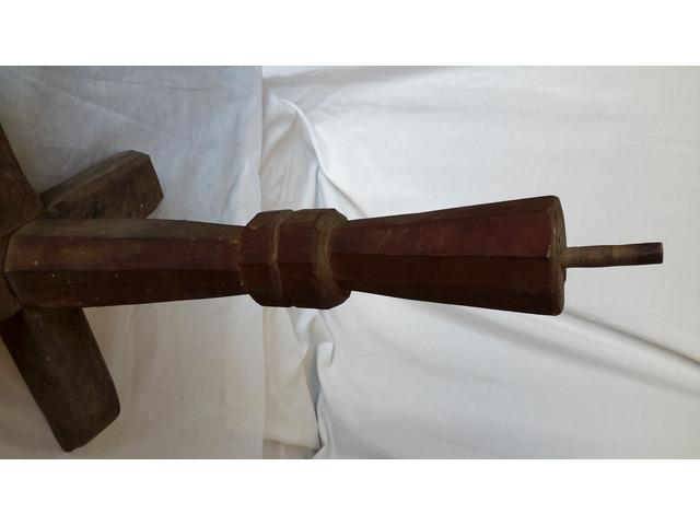 Piede in legno per Supporto TAVOLO o Basamento - 8