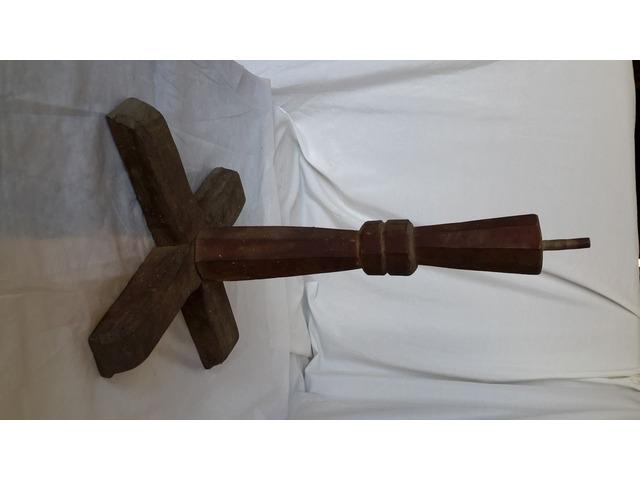 Piede in legno per Supporto TAVOLO o Basamento - 10