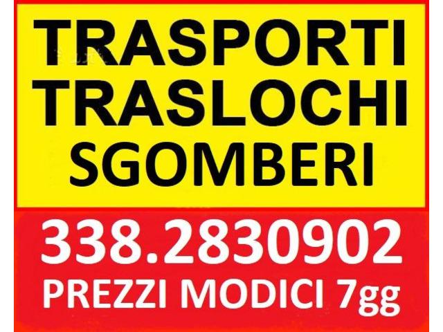 ROMA SGOMBERI GRATUITI APPARTAMENTI UFFICI LOCALI BOX CANTINE 7GG SU7