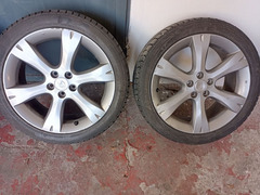 "Cerchi in lega e gomme 215/45/17 Subaru Legacy ""07"