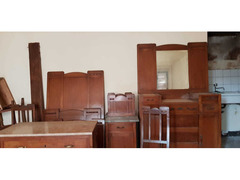 Mobili camera da letto legno ciliegio idea Shabby
