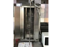 cappa in acciaio bancone frrigo macchine per kebab
