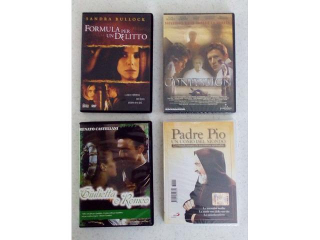 DVD nuovi incelofanati mai aperti vari titoli  e generi