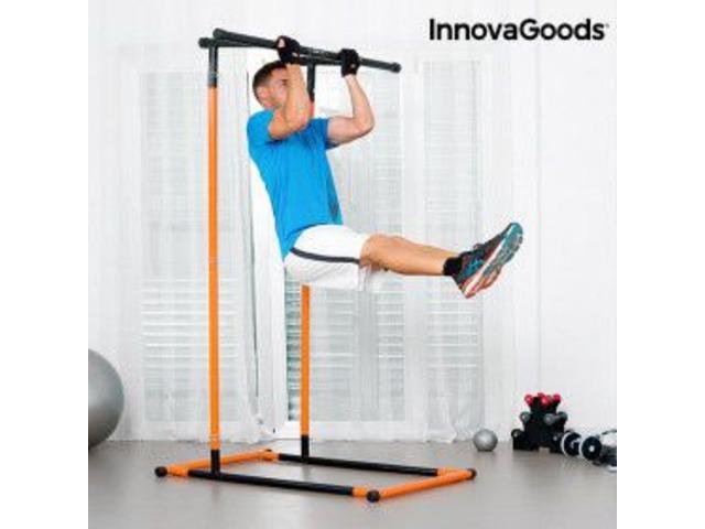 Attrezzo per Trazioni e Fitness con Manuale di Esercizi InnovaGoods - 1