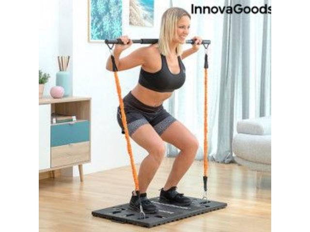Sistema di Allenamento Integrale Portatile con Manuale per gli Esercizi Gympak Max InnovaGoods - 1
