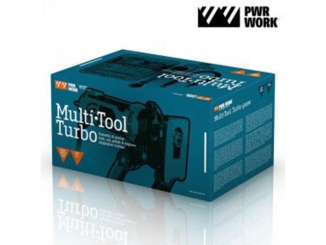 Utensile Multifunzione Turbo PWR Work - 2