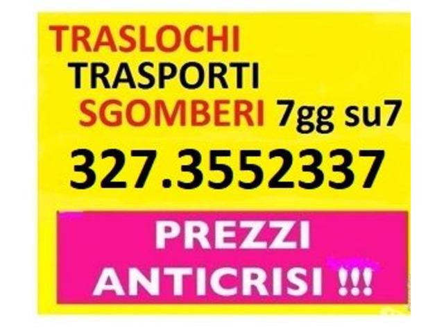 Rapidi ed economici eseguiamo piccoli e grandi traslochi su Roma Lazio 7gg su7