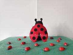 Portachiavi fatto a mano handmade in feltro cute carino nerd morbido peluche