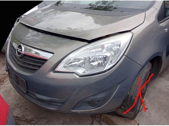 Musata frontale Opel Meriva 1.4 16v anno 2012 - 1
