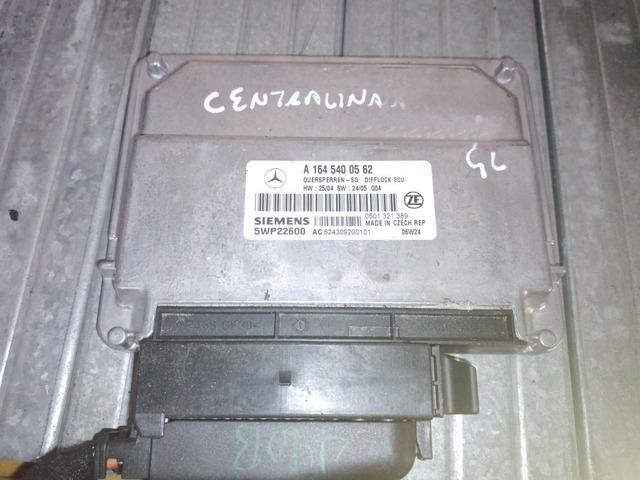 Centralina Mercedes ML W164 / GL X164 A1645400562
