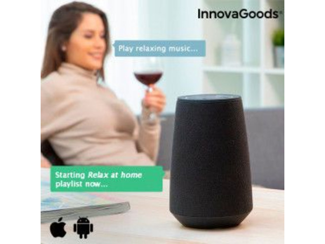Smart Speaker Bluetooth Assistente Virtuale - 2