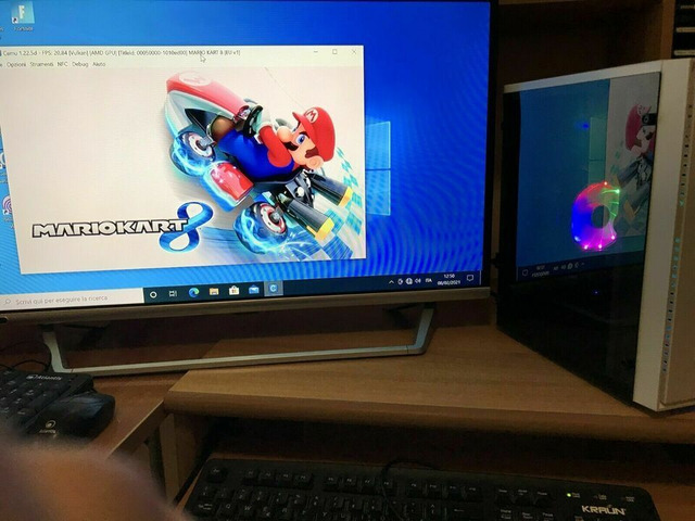 Pc gaming 250gb , intel i5 3.80 ghz, 8gb crucial radeon rx 550 2gb