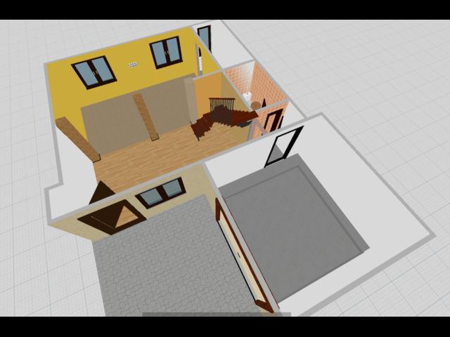 Casa singola tranquilla comodo a servizi. 3 camere openspace, pompeiana e garage