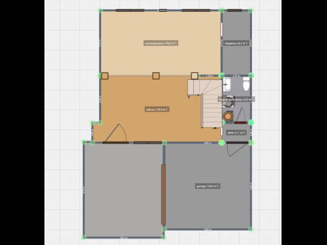Casa singola tranquilla comodo a servizi. 3 camere openspace, pompeiana e garage - 3