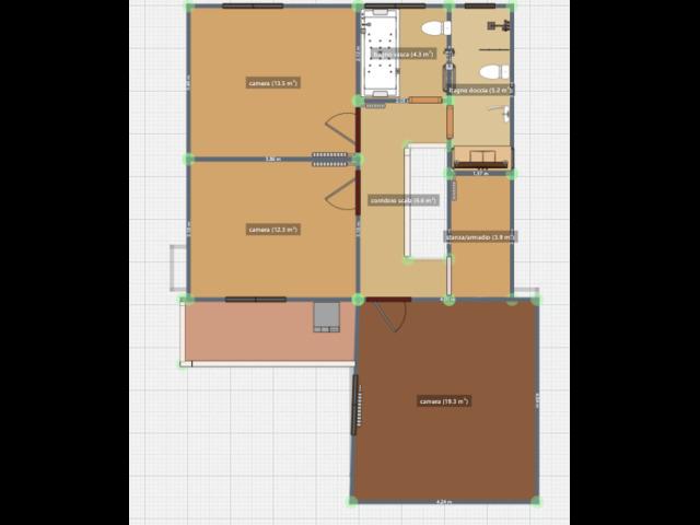 Casa singola tranquilla comodo a servizi. 3 camere openspace, pompeiana e garage - 4
