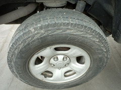 Cerchi e gomme 235/70/16 Jeep Cherokee KJ