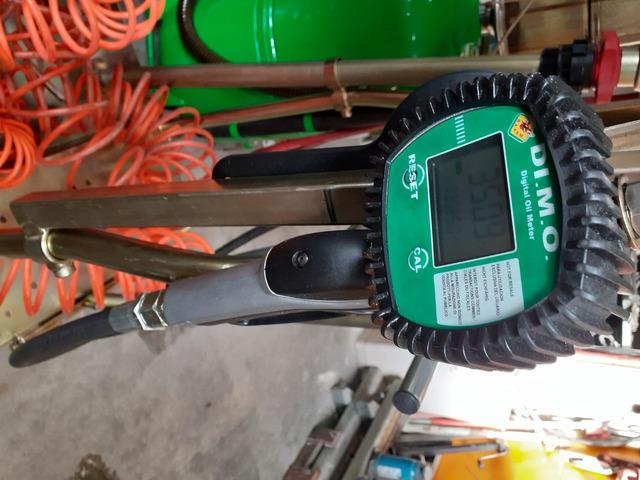 carrello portafusto olio con pompa pneumatica e erogatore digitale - 3/3