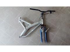 "Telaio bici parte anteriore 26"" in alluminio,"