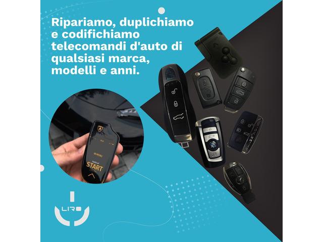 Duplicazione e programmazione di chiavi e telecomandi auto di tutte le marche - 4